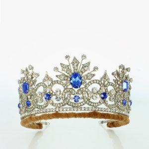 The Kochli sapphire tiara