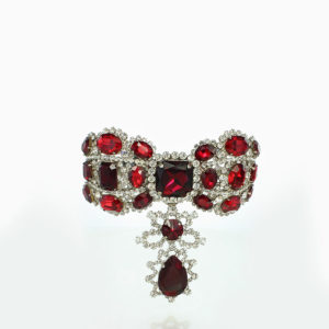 Catherine the Great spinel and diamond brooch