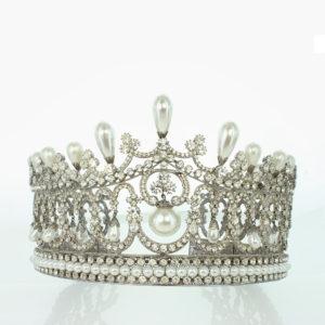 Diadem of ancient pearls
