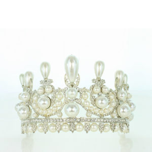 Empress Eugienia pearl tiara