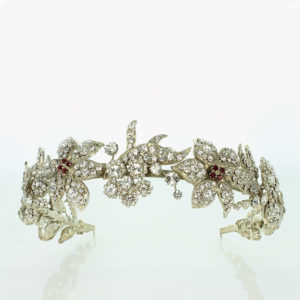 Floral and Ruby Tiara 1935