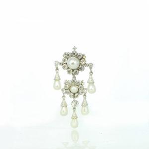 Empress Eugienia's shoulder brooch