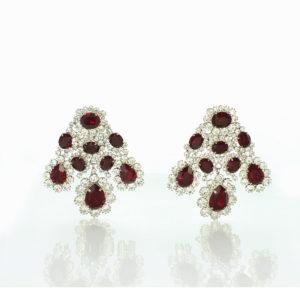 Romanov ruby earrings