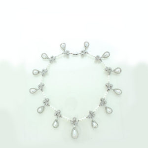 The Vladimir pearl and diamond necklace