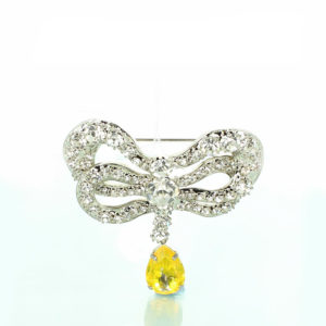 Marie Antionettes bow Brooch