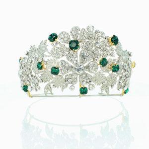 Mellerio floral tiara